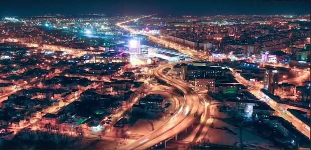 Видео дня: Нижний Новгород показали с высоты птичьего полета за одну минуту