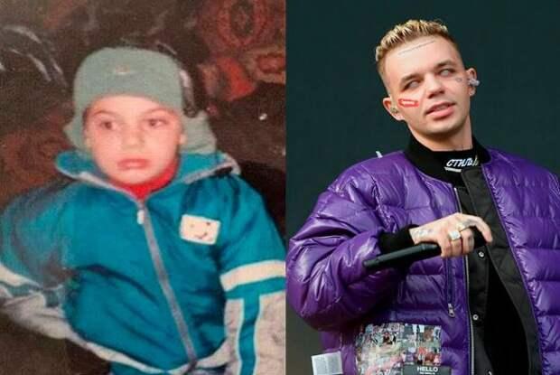 Вот как эти 9 российских рэперов выглядели в юности и в детстве