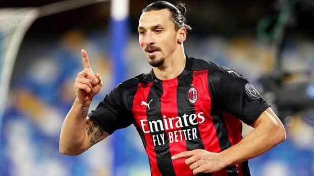Ибрагимович и «Милан» договорились о продлении контракта