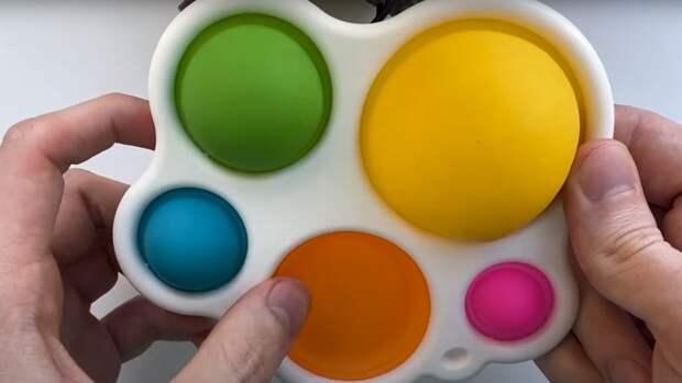 Современные игрушки: что такое «Поп ит», «Симпл Димпл», «Трейд» и другие