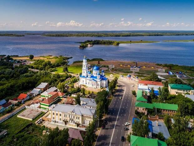 Татарстан: хит-парад городов на реке (по версии Круизной компании «Созвездие»)