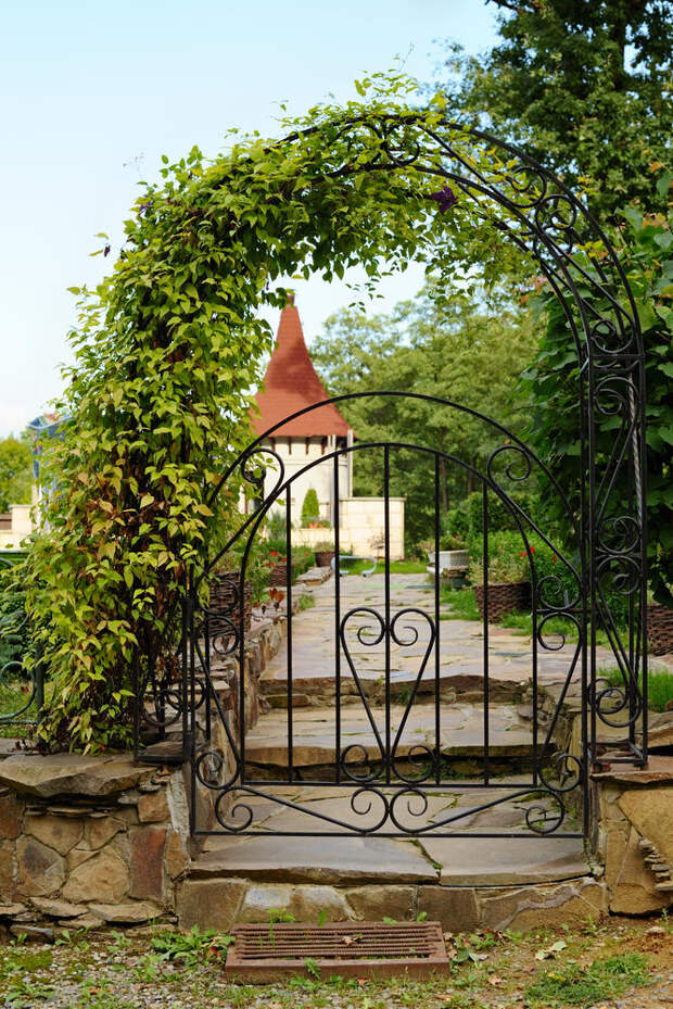 Садовые арки: идеи использования арок на даче