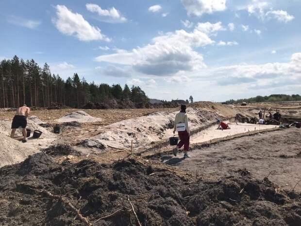 Начались археологические раскопки в районе села Малое Окулово Нижегородской области