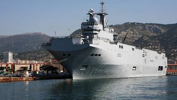 NI: сделка России и Франции с «Мистралями» грозила для НАТО крупными неприятностями