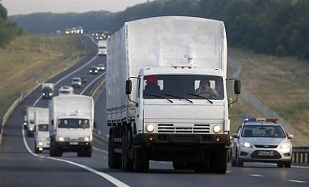Второй конвой Путина в Украину могут отправить по железной дороге