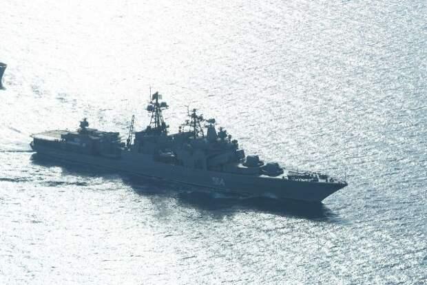 Отряд кораблей Тихоокеанского флота России покинул Сингапур