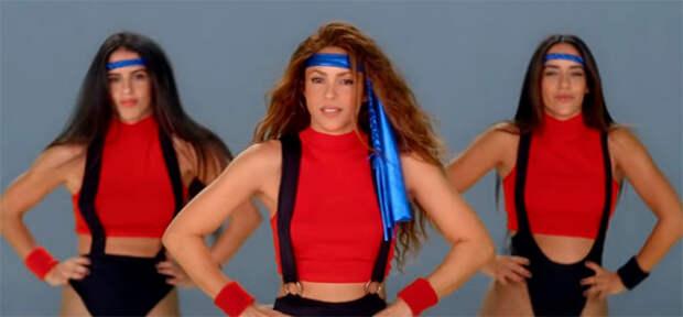 Годный танцевальный челлендж подоспел от Шакиры и The Black Eyed Peas