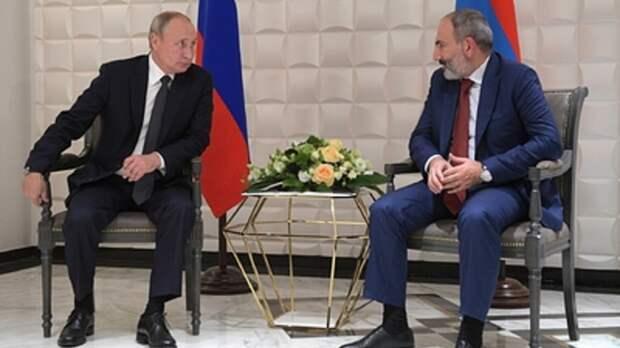 Песков назвал условие ввода русских миротворцев в Нагорный Карабах