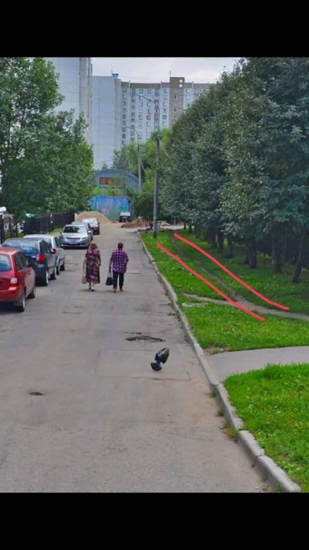На озелененной стороне Пятницкого шоссе дорожки асфальтировать не будут – управа