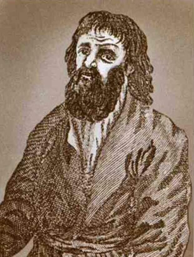 Портрет Ваньки Каина, гравюра из старинной книги. Wikipedia