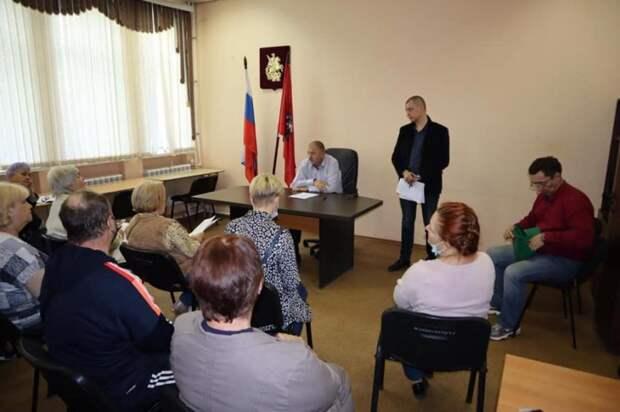 В управе Молжаниновского подвели итоги месяца благоустройства