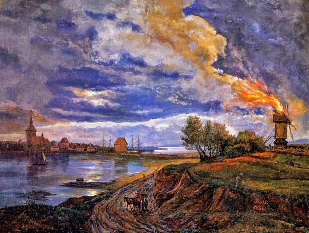 Первый норвежский импрессионист Юхан Даль