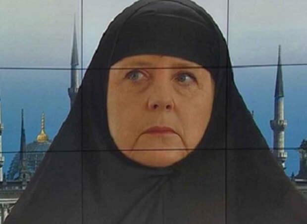Ангела Меркель завозит мигрантов в Германию