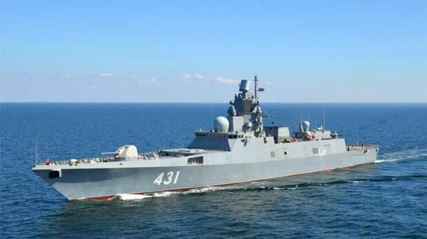 Северный флот получил новый фрегат проекта 22350