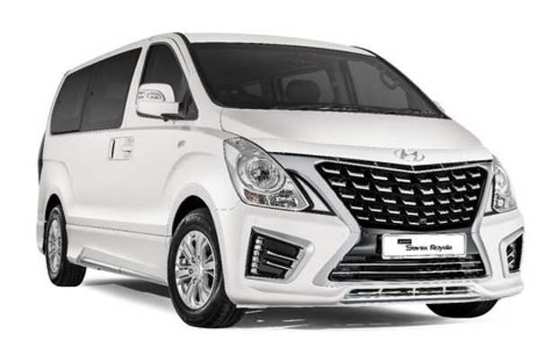 Микроавтобусу Hyundai приделали лицо Тойоты