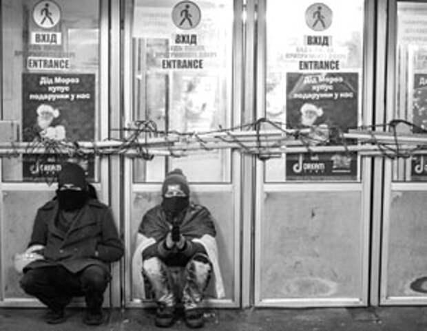 Андрей Манчук. Шулеры Майдана превратили Киев в город разбитых фонарей