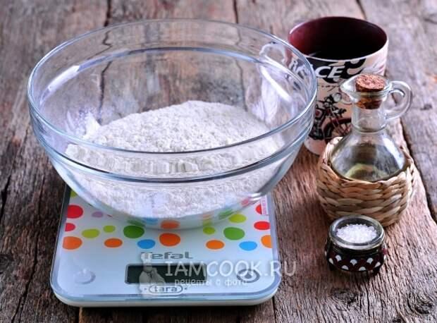 Ингредиенты для лаваша для шаурмы в домашних условиях