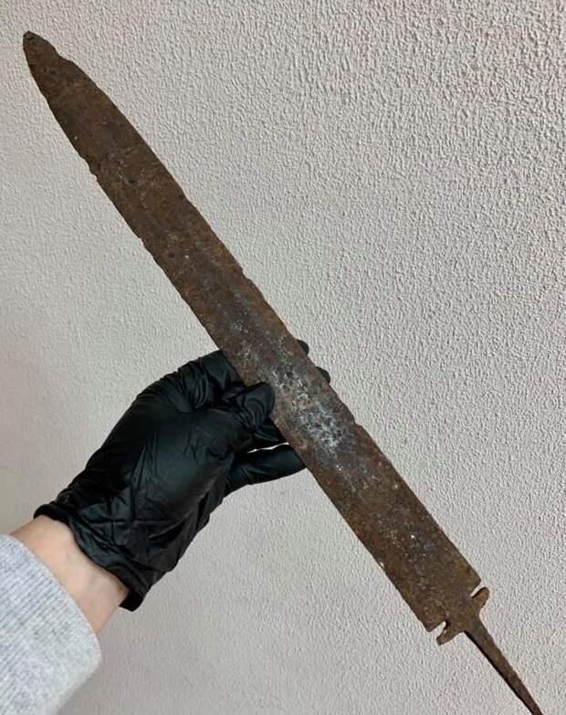 аланский меч, археология, предмет археологии, таможня