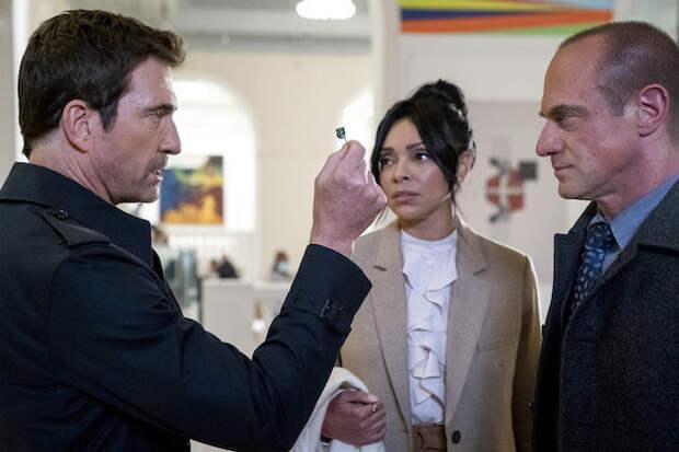 Law & Order: OC's Chris Meloni, Dylan McDermott Tease Stabler/Benson 'Healing' in New SVU Crossover