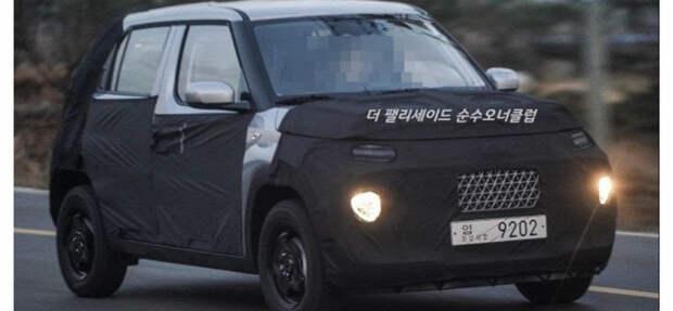 Самый маленький и дешёвый кроссовер Hyundai получил название Casper