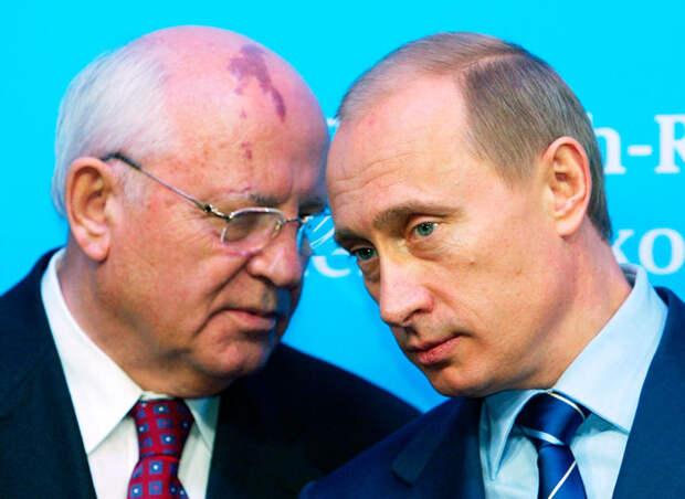Почему пал СССР – и как не дать рухнуть России. Версии Путина и Горбачева