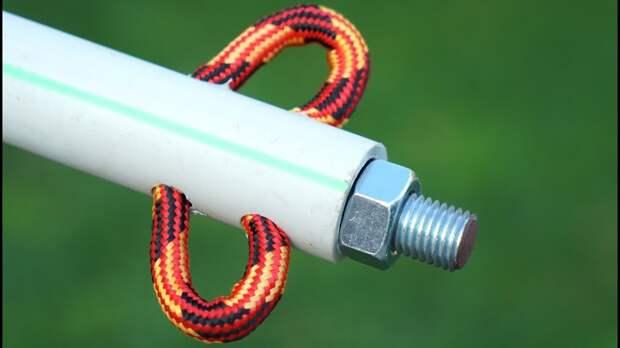 6 полезных приспособлений из веревок для дома и дачи