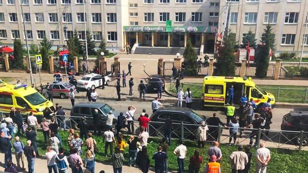 Президент Татарстана выехал на место стрельбы в школе в Казани