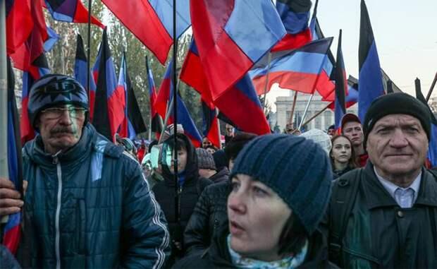 Донбасс уже не хочет в Россию