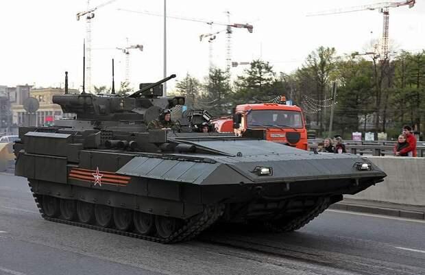 В США восхитились БМП Т-15 на базе «Арматы»