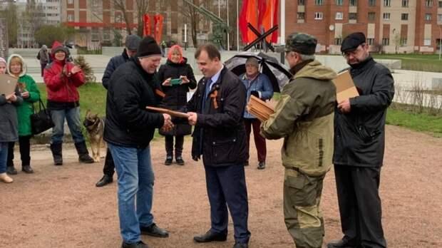 Петербургские поисковики получили подарки и благодарственные письма от Сергея Вострецова