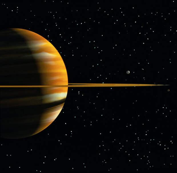 Земляне добрались до Сатурна