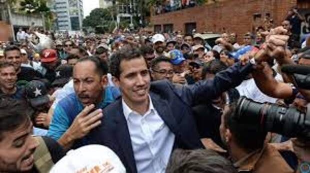 Революция в Венесуэле стала самым значимым флешмобом дня в Латинской Америке