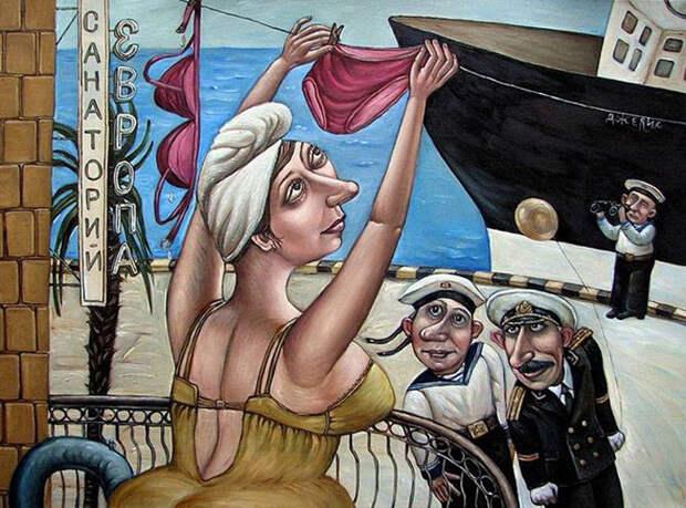 Картины Анжелы Джерих.