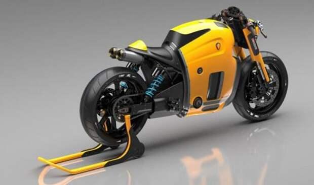 Новый мотоцикл Koenigsegg (4 фото)