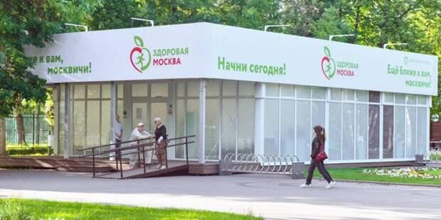 Павильоны «Здоровая Москва» открылись еще в семи городских парках Фото: : mos.ru
