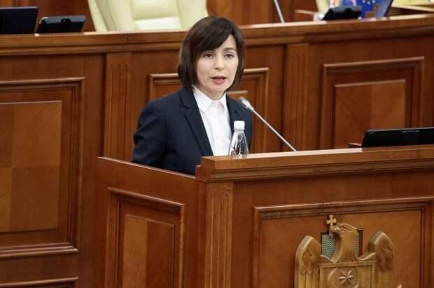 Партия социалистов Молдавии потребовала отставки Санду
