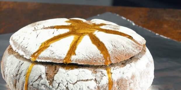 Жаркое в хлебе. Мясо, запечённое в духовке с ароматным хлебом 2