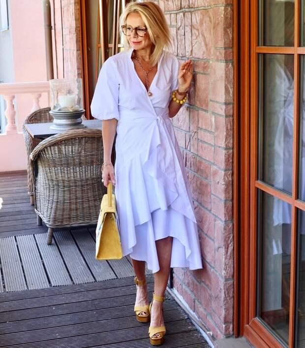 19 стильных образов для женщины элегантного возраста. Идеи для вдохновения