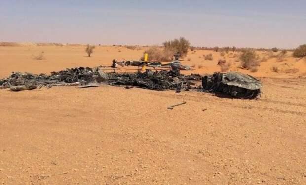 Турецкие СМИ сообщают о крушении вертолета с «российскими наёмниками» в Ливии