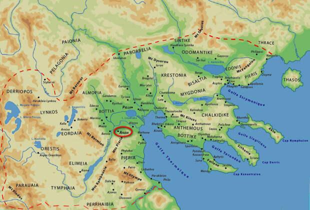 Становление государственности в Македонии