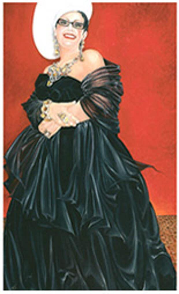 AURORA, маслом на холсте 60