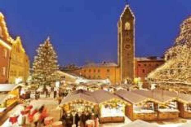 Встреть сказку на Рождественских базарах Италии