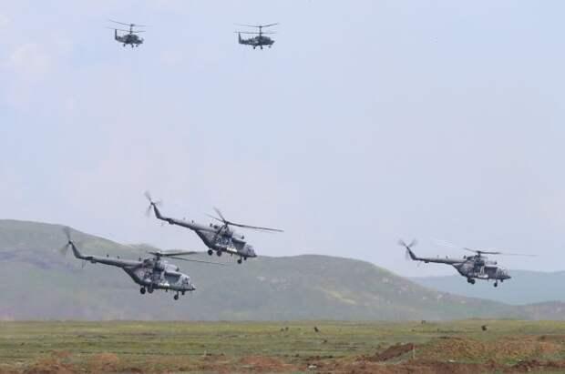 В Крыму стартовали военные учения с участием авиации