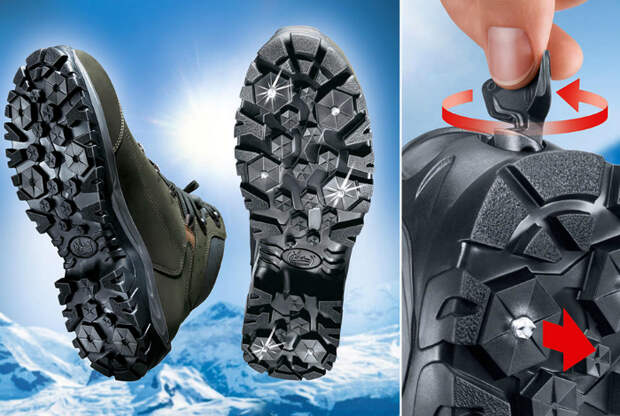 Зимние ботинки Meindl.