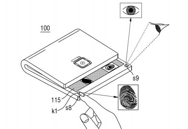 В Samsung придумали гибкий смартфон с оригинальной системой складывания