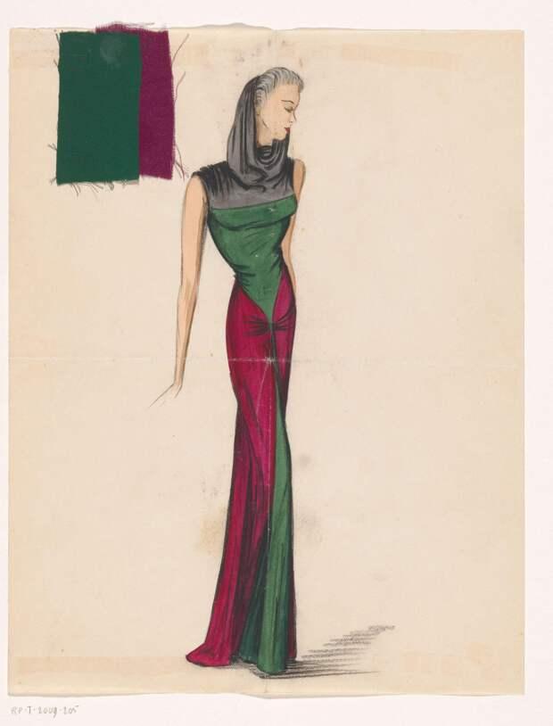 Эскизы платьев Мадам Гре