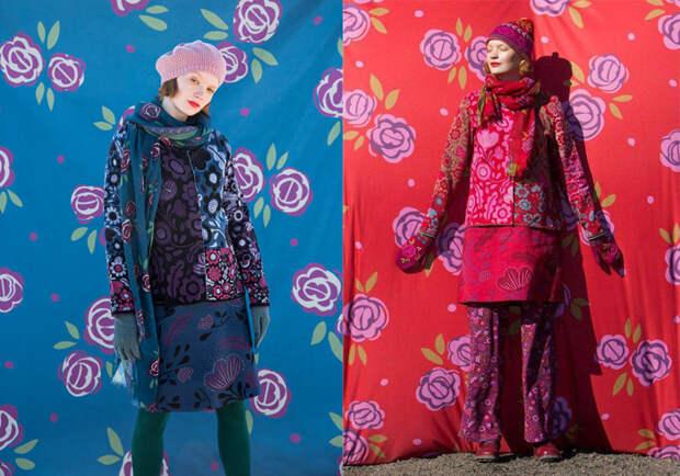 Яркие цвета в коллекциях марки Gudrun Sjoden.