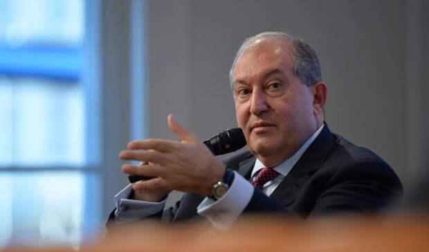 Президент Армении: Турция пытается взять под контроль энергопоставки изКаспийского региона