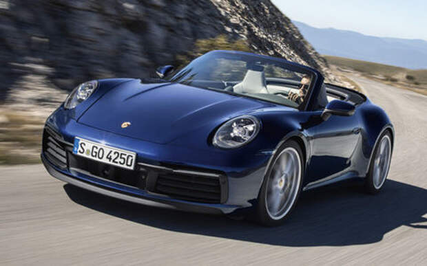 Все о новом кабриолете Porsche 911