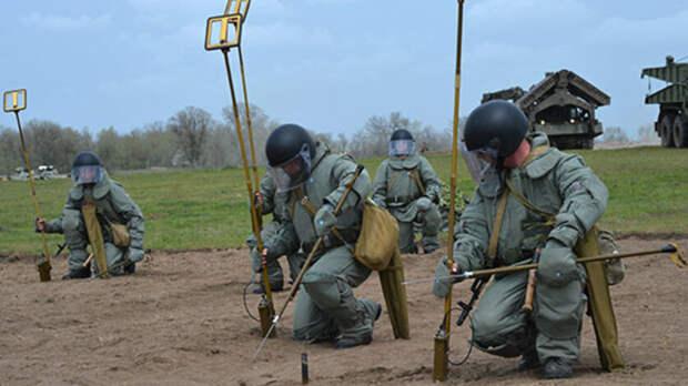 Минные заграждения появились рядом сграницей Ростовской области иУкраины